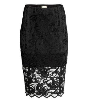 H&M Lace Pencil Skirt-$34.99